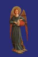 Engel mit Trommel 2
