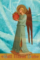 Engel mit Tamburin 2