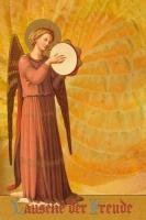 Engel mit Tamburin 1